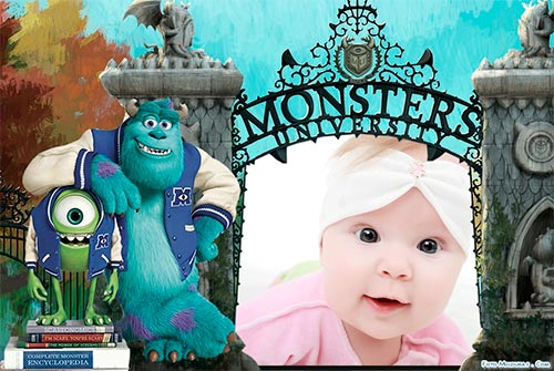 Fotomontaje de Monsters University