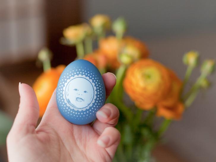Efecto de imagen en huevo con Photofunia