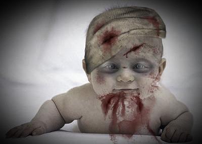 Fotomontaje Zombie por Halloween