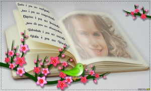 Fotomontajes en paginas de libros