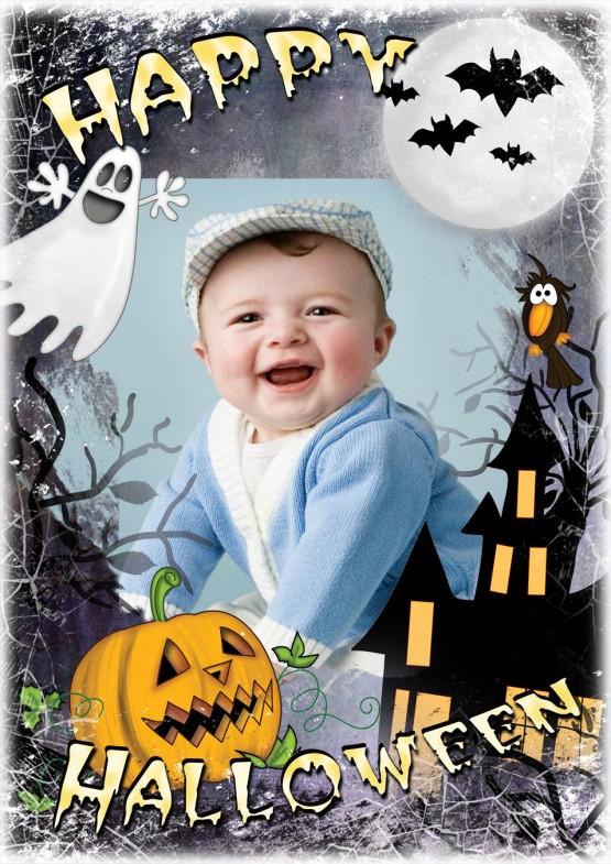 Marco para foto por Halloween