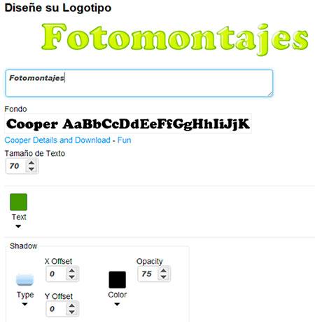 Cooltext - Opciones texto animado