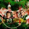 Fotomontajes en un árbol de Navidad