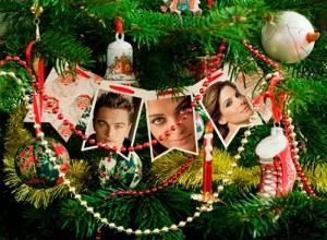 Fotomontaje árbol de Navidad