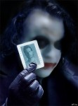 Fotomontaje con el Joker