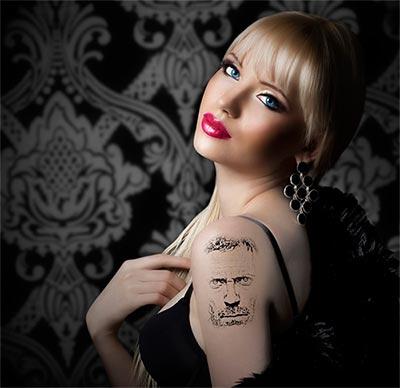 Fotomontaje de tatuaje