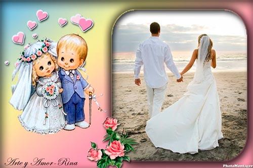 Fotomontaje para bodas
