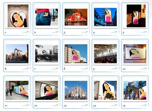 Lista de imágenes para crear fotomontaje