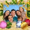 Marcos para fotos de Navidad con Photomontager