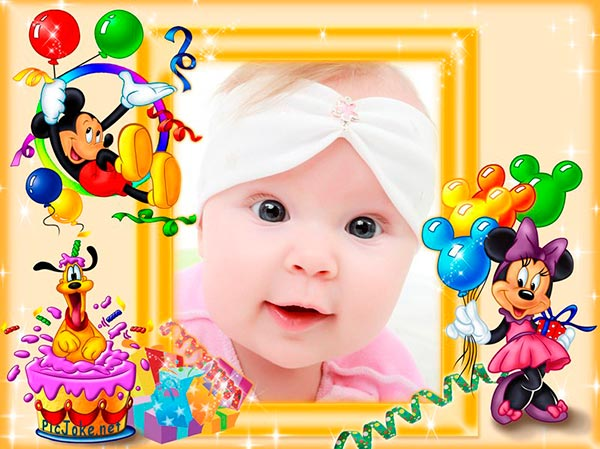 Marcos para fotos de cumpleaños - PicJoke