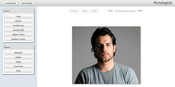 Picmagick Aplicación para editar fotos